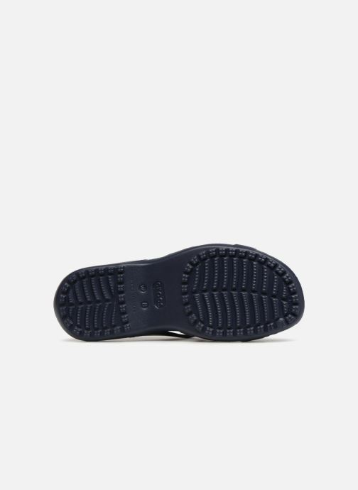 Mules et sabots Crocs Meleen Twist Sandal W Bleu vue haut