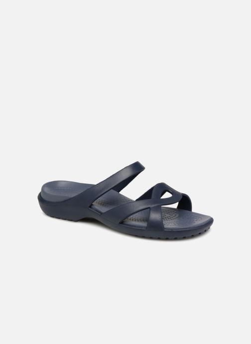 Mules et sabots Crocs Meleen Twist Sandal W Bleu vue détail/paire