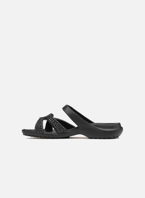 de159177eaa7 Crocs Meleen Twist Diamante Sandal (Black) - Mules   clogs chez ...