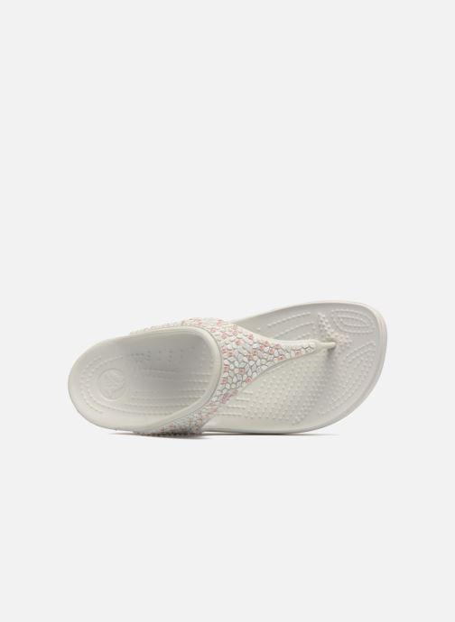 Wedges Crocs Sloane Embellished Flip Grijs links