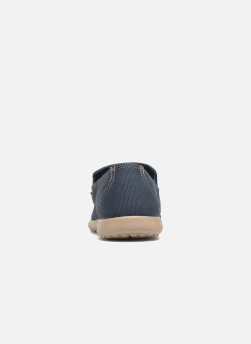 Loafers Crocs Santa Cruz Clean Cut Loafer Blue view from the right