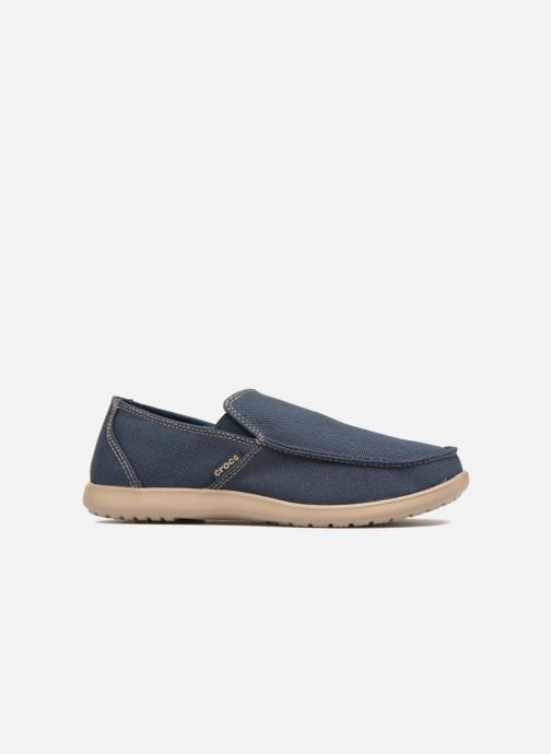 Loafers Crocs Santa Cruz Clean Cut Loafer Blue back view