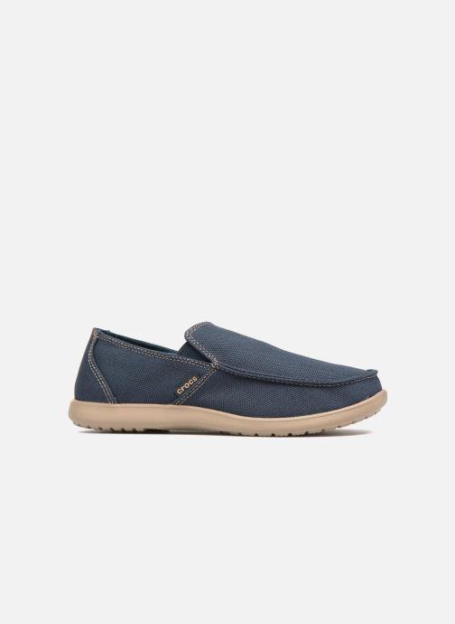 Mocassins Crocs Santa Cruz Clean Cut Loafer Bleu vue derrière