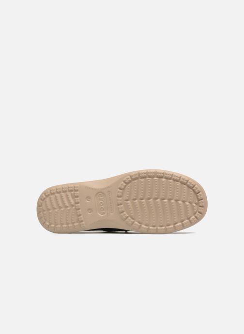 Mocassins Crocs Santa Cruz Clean Cut Loafer Bleu vue haut