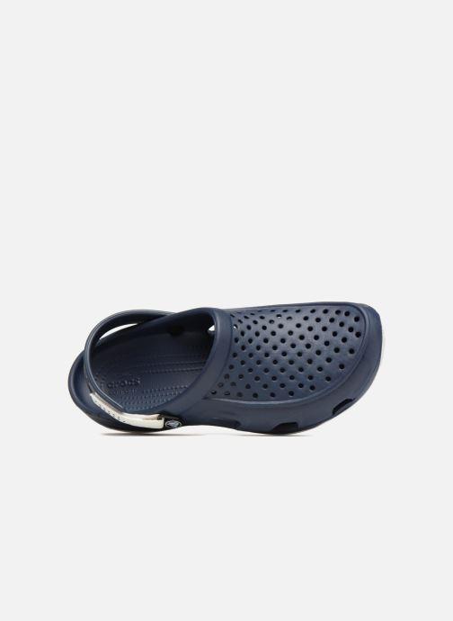 Sandales et nu-pieds Crocs Swiftwater Deck Clog M Noir vue gauche