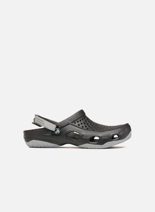 Sandales et nu-pieds Crocs Swiftwater Deck Clog M Noir vue derrière