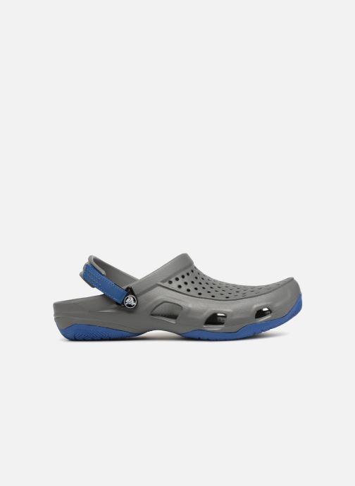 Sandales et nu-pieds Crocs Swiftwater Deck Clog M Gris vue derrière