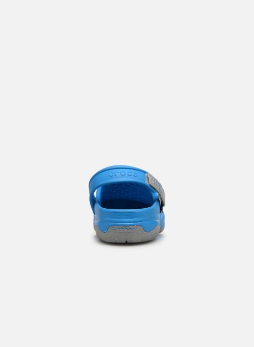 Sandales et nu-pieds Crocs Swiftwater Deck Clog M Bleu vue droite