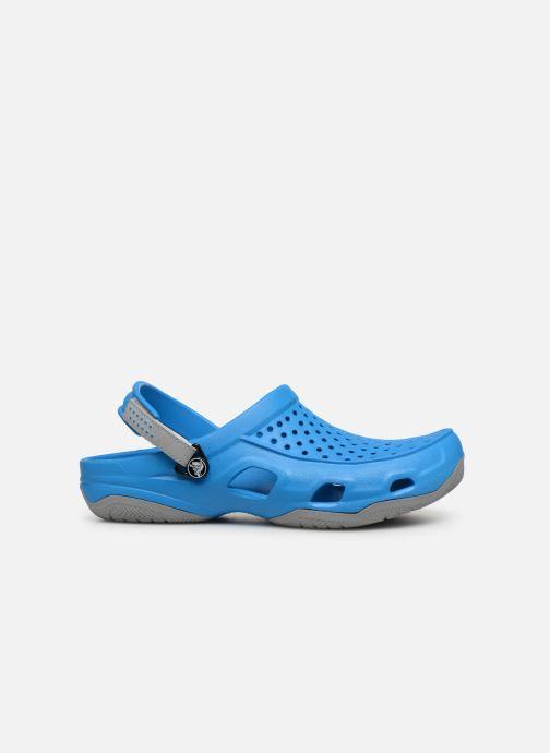 Sandales et nu-pieds Crocs Swiftwater Deck Clog M Bleu vue derrière