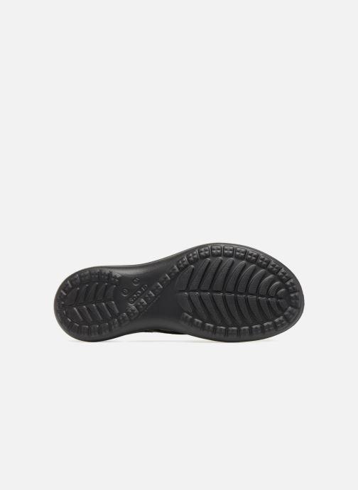 Tongs Crocs Capri V Sequin W Noir vue haut