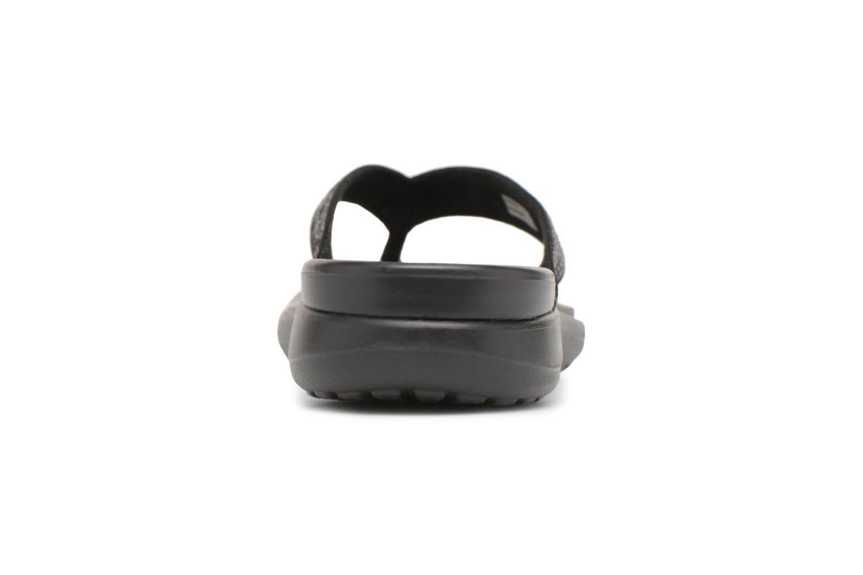 Tongs Crocs Capri V Sequin W Noir vue droite