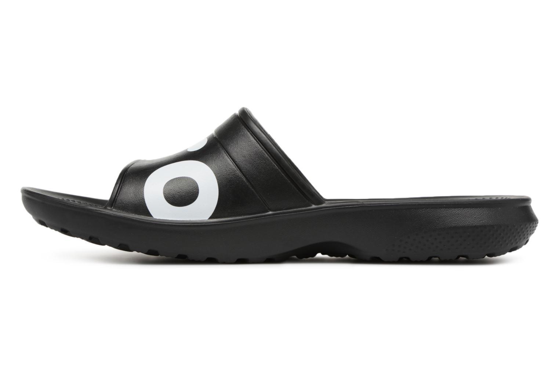 Mules & clogs Crocs Classic Graphic Slide Black front view