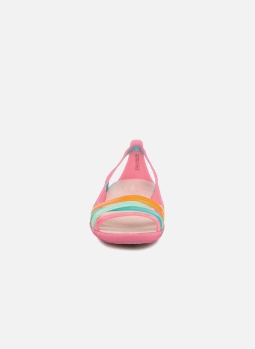 d33afde8d927 Crocs Isabella Huarache 2 Flat W (Multicolor) - Sandals chez Sarenza ...