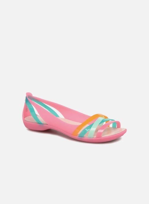 d9e141632c2d Crocs Isabella Huarache 2 Flat W (Multicolor) - Sandals chez Sarenza ...