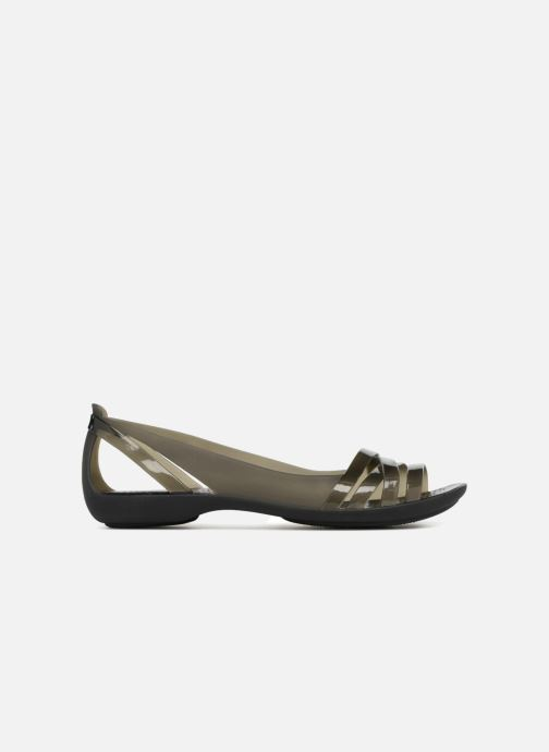 Sandales et nu-pieds Crocs Isabella Huarache 2 Flat W Noir vue derrière