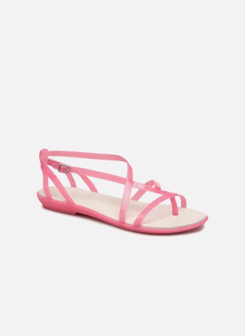 ca8b1bb0d32 Sandales et nu-pieds Crocs Isabella Gladiator Sandal W Rose vue détail paire