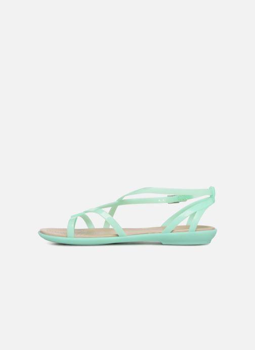 Sandalen Crocs Isabella Gladiator Sandal W grün ansicht von vorne