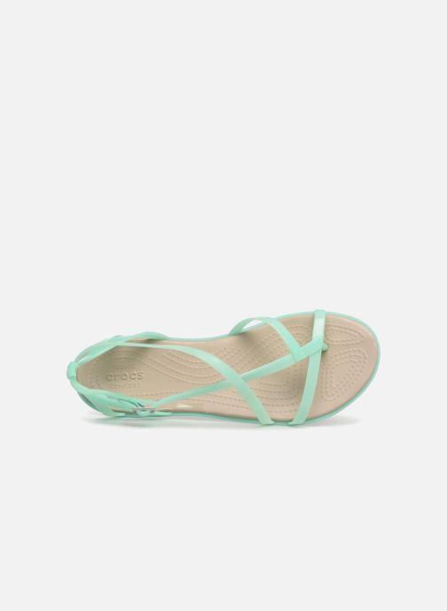 Sandalen Crocs Isabella Gladiator Sandal W grün ansicht von links