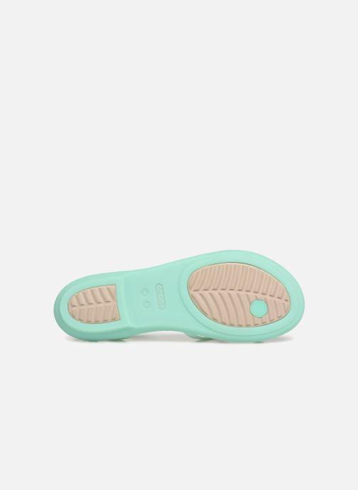 Sandales et nu-pieds Crocs Isabella Gladiator Sandal W Vert vue haut