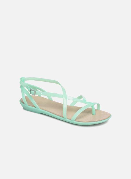 Sandales et nu-pieds Crocs Isabella Gladiator Sandal W Vert vue détail/paire