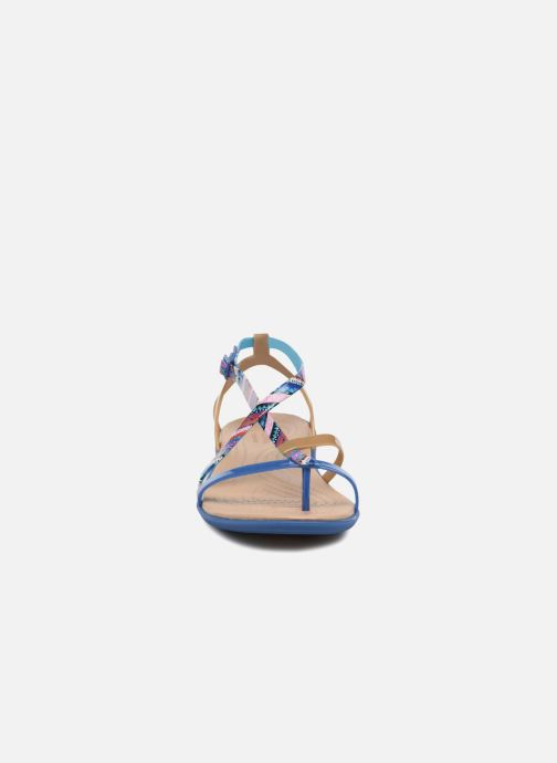 Sndl Jean gold Blue W Isabella Gladiator Grph Crocs D29IHE