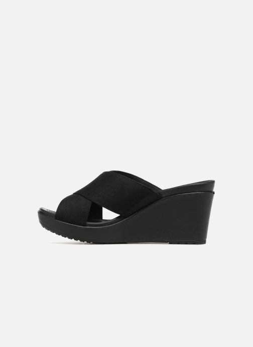 Crocs Mules Sabots black Leigh Wedge Xstrap Et Ii Black 4ALc3jS5Rq