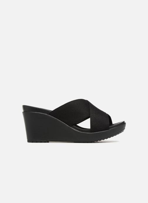 Ii Crocs Wedge Leigh Black Xstrap black 8n0OPwk