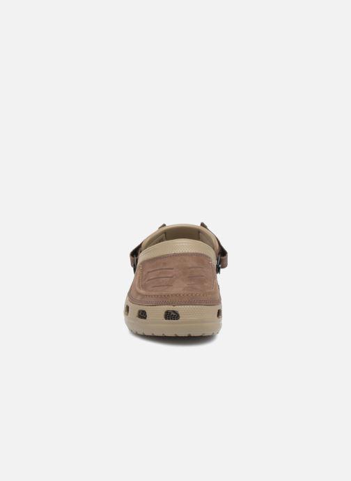 Sandali e scarpe aperte Crocs Yukon Vista Clog M Verde modello indossato