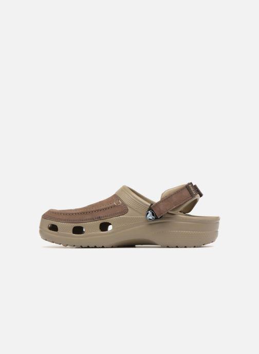 Sandales et nu-pieds Crocs Yukon Vista Clog M Vert vue face