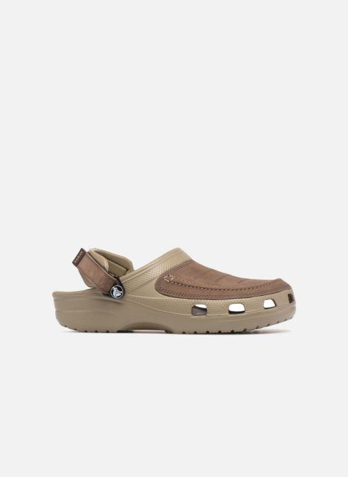 Sandales et nu-pieds Crocs Yukon Vista Clog M Vert vue derrière