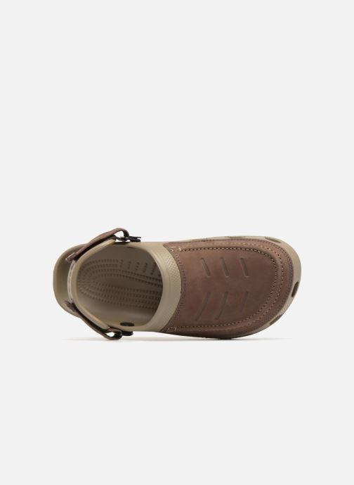 Sandales et nu-pieds Crocs Yukon Vista Clog M Vert vue gauche