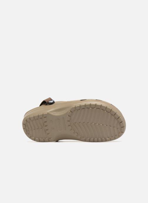 Sandales et nu-pieds Crocs Yukon Vista Clog M Vert vue haut