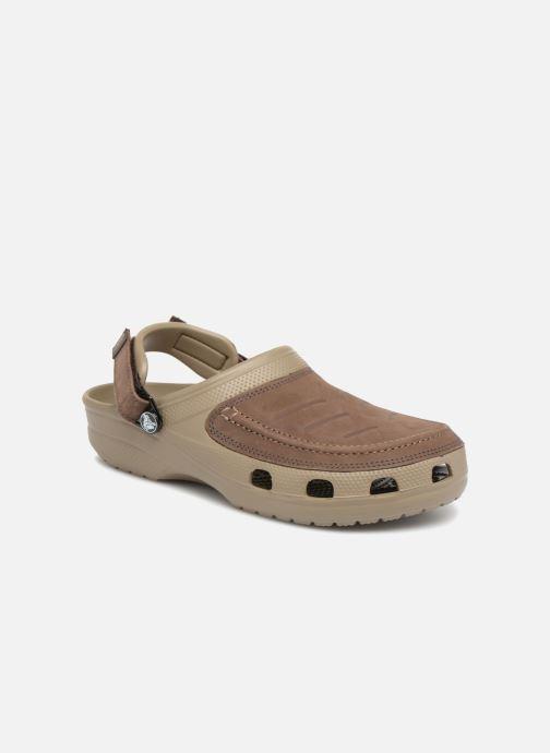 Sandales et nu-pieds Crocs Yukon Vista Clog M Vert vue détail/paire