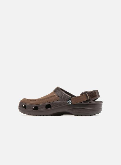 Sandali e scarpe aperte Crocs Yukon Vista Clog M Marrone immagine frontale