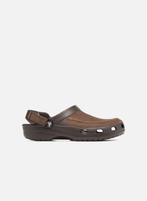 Sandali e scarpe aperte Crocs Yukon Vista Clog M Marrone immagine posteriore