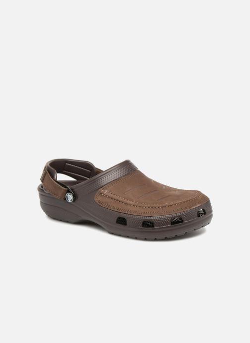 1a4f51c5d76 Sandales et nu-pieds Crocs Yukon Vista Clog M Marron vue détail paire