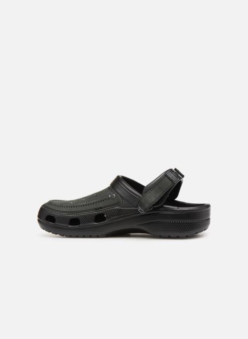 Sandales et nu-pieds Crocs Yukon Vista Clog M Noir vue face