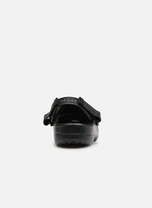 Sandalias Crocs Yukon Vista Clog M Negro vista lateral derecha