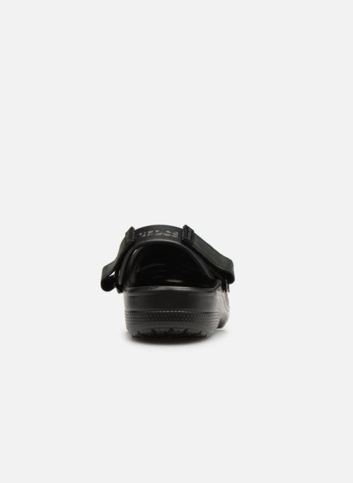 Sandales et nu-pieds Crocs Yukon Vista Clog M Noir vue droite