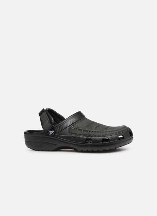 Sandales et nu-pieds Crocs Yukon Vista Clog M Noir vue derrière