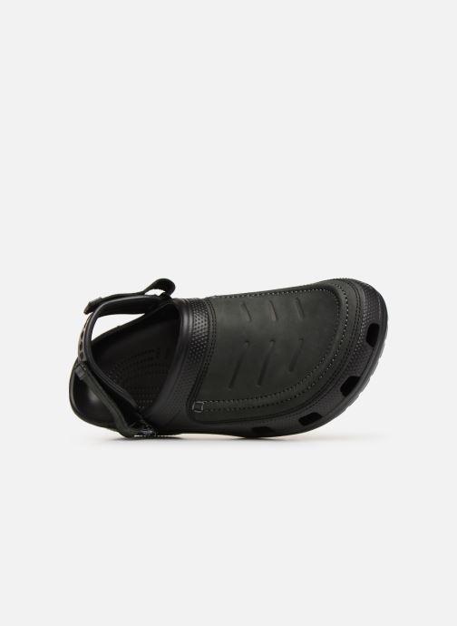 Sandales et nu-pieds Crocs Yukon Vista Clog M Noir vue gauche