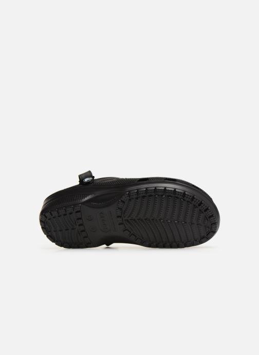 Sandales et nu-pieds Crocs Yukon Vista Clog M Noir vue haut