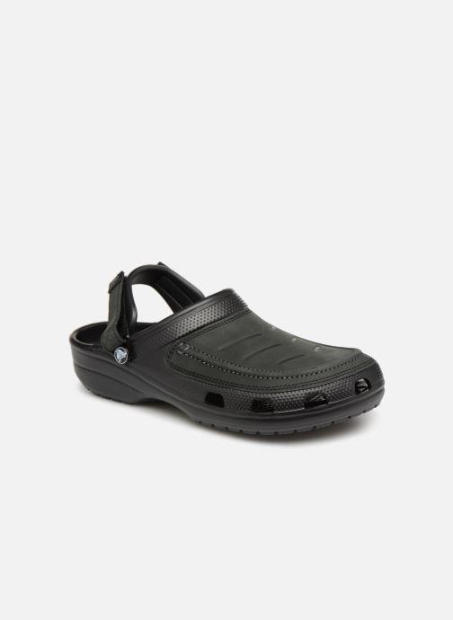 Sandales et nu-pieds Crocs Yukon Vista Clog M Noir vue détail/paire