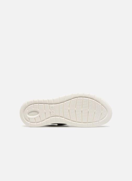 Sandalen Crocs LiteRide Sandal W schwarz ansicht von oben