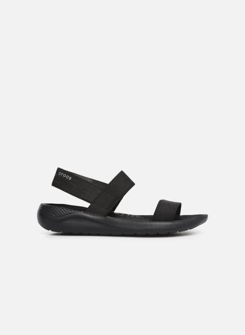 Sandalias Crocs LiteRide Sandal W Negro vistra trasera