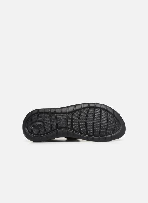 Sandalias Crocs LiteRide Sandal W Negro vista de arriba