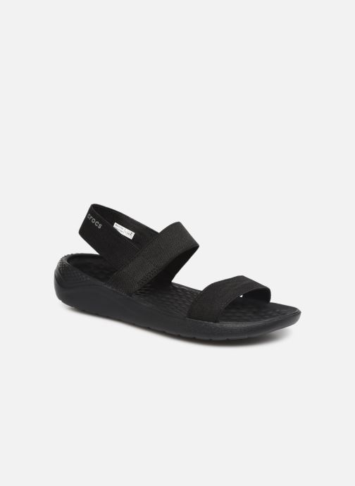 Sandals Crocs LiteRide Sandal W Black detailed view/ Pair view