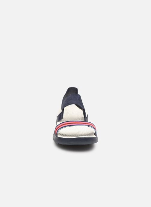 Sandali e scarpe aperte Crocs LiteRide Sandal W Azzurro modello indossato