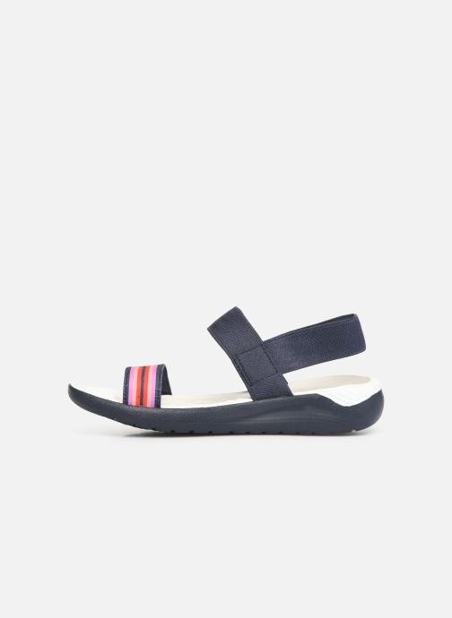 Sandalias Crocs LiteRide Sandal W Azul vista de frente