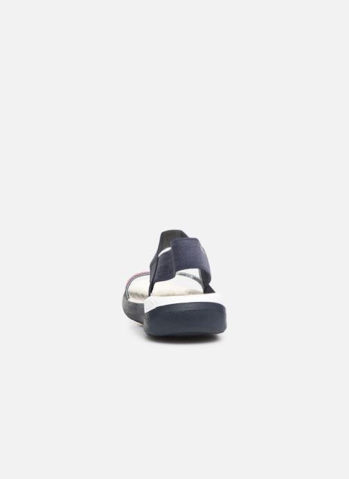 Sandaler Crocs LiteRide Sandal W Blå Bild från höger sidan